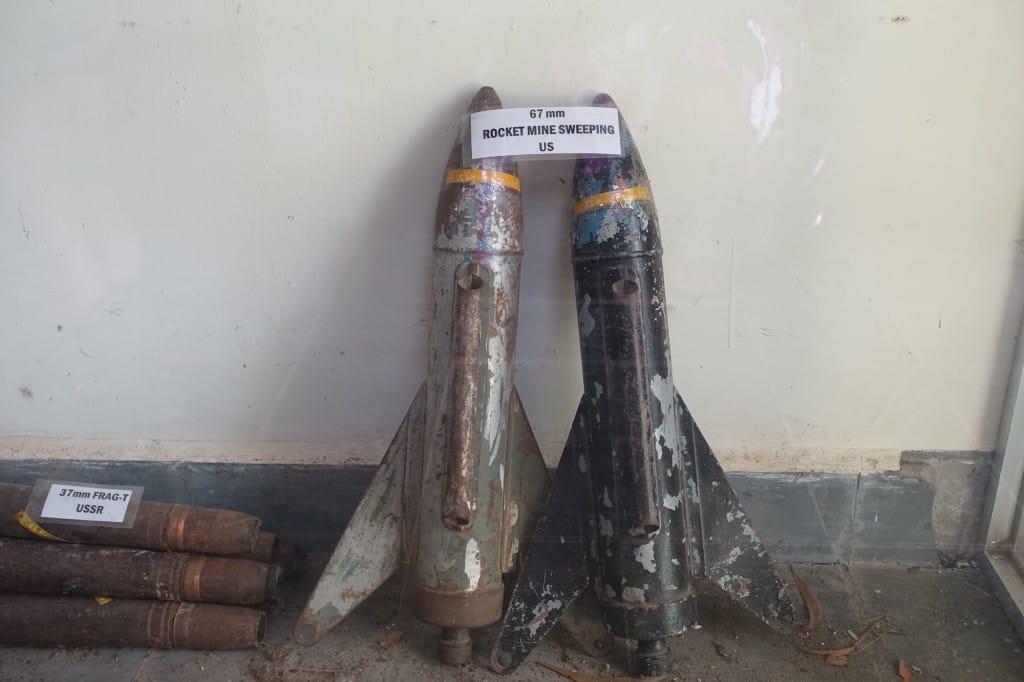 Landmine Rockets