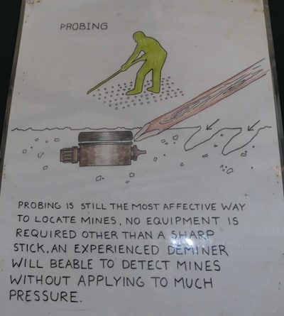 Probing Landmines